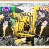 Peinture_avec_chevalet_et_trois_visages_de_ORLAN_émergeant_du_faux_marbre