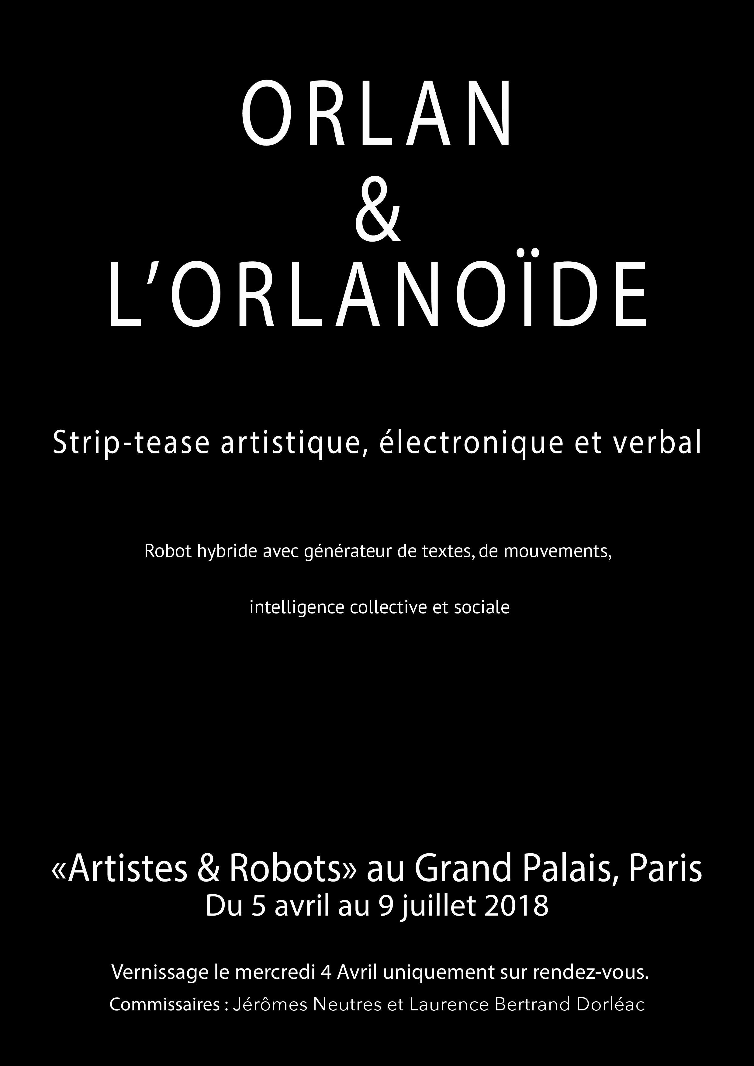 artiste et robot grand palais