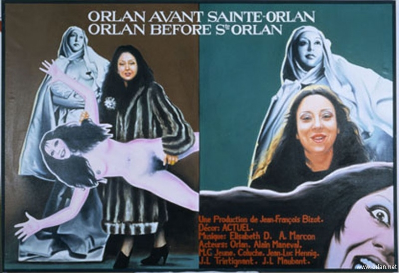 ORLAN avant Sainte ORLAN / ORLAN before St ORLAN